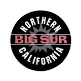 "Big Sur California 3.5"" Button (100 pack)"