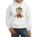 Masonic Holiday Lantern Hooded Sweatshirt