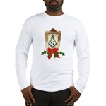 Masonic Holiday Lantern Long Sleeve T-Shirt