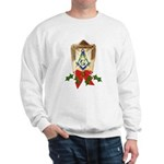 Masonic Holiday Lantern Sweatshirt