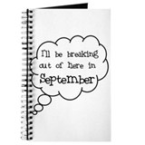 """Breaking Out September"" Journal"