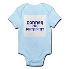 Conner for President Infant Creeper
