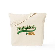 Irish Firefighter's Girl Tote Bag