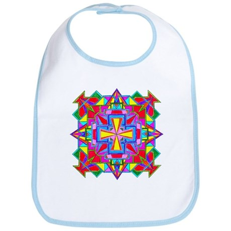 Tibetan Mandala Color 1 Bib
