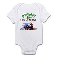 Train 2nd Birthday Infant Creeper