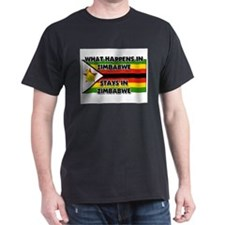 What Happens In ZIMBABWE Stays There T-Shirt