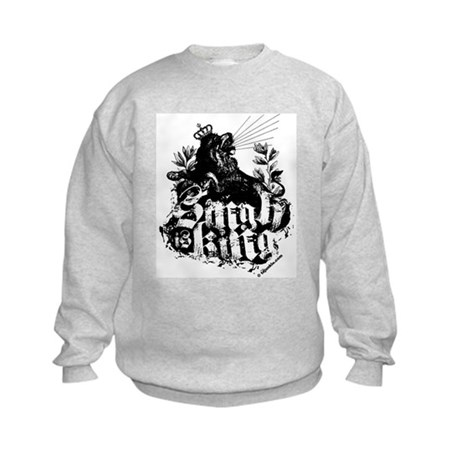 Singh is King. Kids Sweatshirt