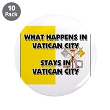 "What Happens In VATICAN CITY Stays There 3.5"" Butt"
