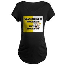 What Happens In VATICAN CITY Stays There T-Shirt