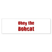 Obey the Bobcat Bumper Sticker (10 pk)