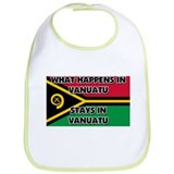 What Happens In VANUATU Stays There Bib