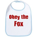 Obey the Fox Bib