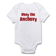 Obey the Anchovy Infant Bodysuit