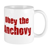 Obey the Anchovy Mug