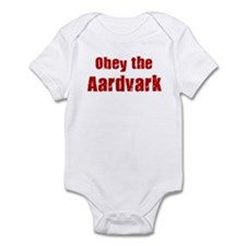 Obey the Aardvark Infant Bodysuit