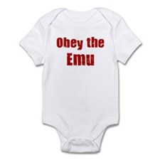 Obey the Emu Infant Bodysuit