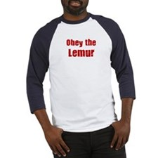 Obey the Lemur Baseball Jersey