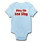 Obey the Sea Slug Infant Bodysuit