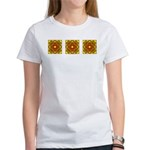 Brown Shield Design Women's T-Shirt