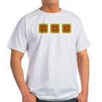 Brown Shield Design Light T-Shirt