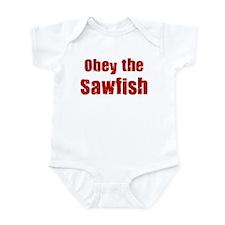 Obey the Sawfish Infant Bodysuit