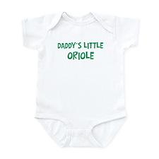 Daddys little Oriole Infant Bodysuit