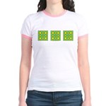 Dutch Gold And Yellow Design Jr. Ringer T-Shirt
