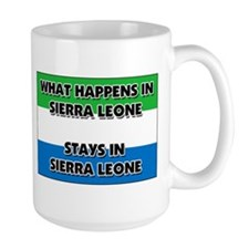 What Happens In SIERRA LEONE Stays There Mug
