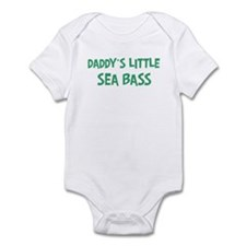 Daddys little Sea Bass Infant Bodysuit