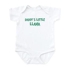 Daddys little Llama Onesie