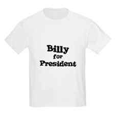 Billy for President Kids T-Shirt