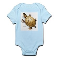 Mud Turtle Infant Creeper