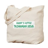 Daddys little Tasmanian Devil Tote Bag