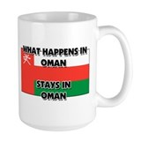 What Happens In OMAN Stays There Mug