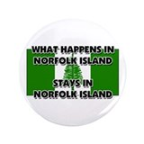"What Happens In NORFOLK ISLAND Stays There 3.5"" Bu"