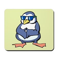 Penguin in Shades Mousepad