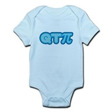 Q T Pi (blue) Infant Bodysuit