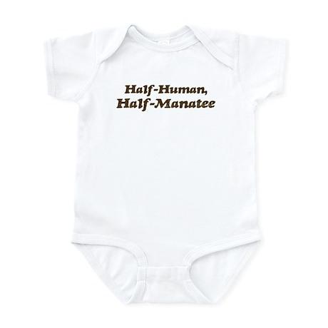 Half-Manatee Infant Bodysuit