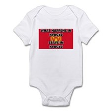 What Happens In KYRGYZ Stays There Infant Bodysuit