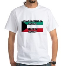 What Happens In KUWAIT Stays There Shirt