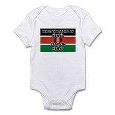 What Happens In KENYA Stays There Infant Bodysuit