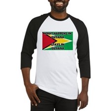 What Happens In GUYANA Stays There Baseball Jersey