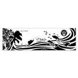 OCEAN COMOTION - Bumper Bumper Sticker