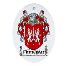 Finnegan Coat of Arms Keepsake Ornament