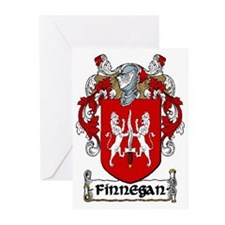 Finnegan Coat of Arms Note Cards (Pk of 10)