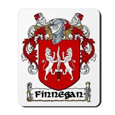 Finnegan Coat of Arms Mousepad