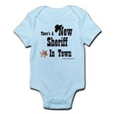 &amp;quot;New Sheriff In Town&amp;quot; Infant Bodysuit