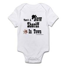 """New Sheriff In Town"" Infant Bodysuit"