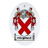 Fitzgerald Coat of Arms Keepsake Ornament