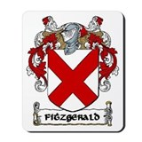 Fitzgerald Coat of Arms Mousepad